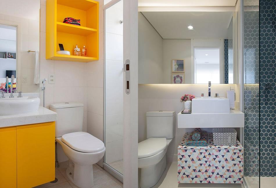 Banheiro Pequeno  5 dicas para decorar  Thyara Porto  Arquiteta -> Banheiro Pequeno Dicas