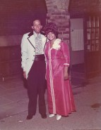 parents of the bride: Calvin Theodore Brasier and Florida Brasier