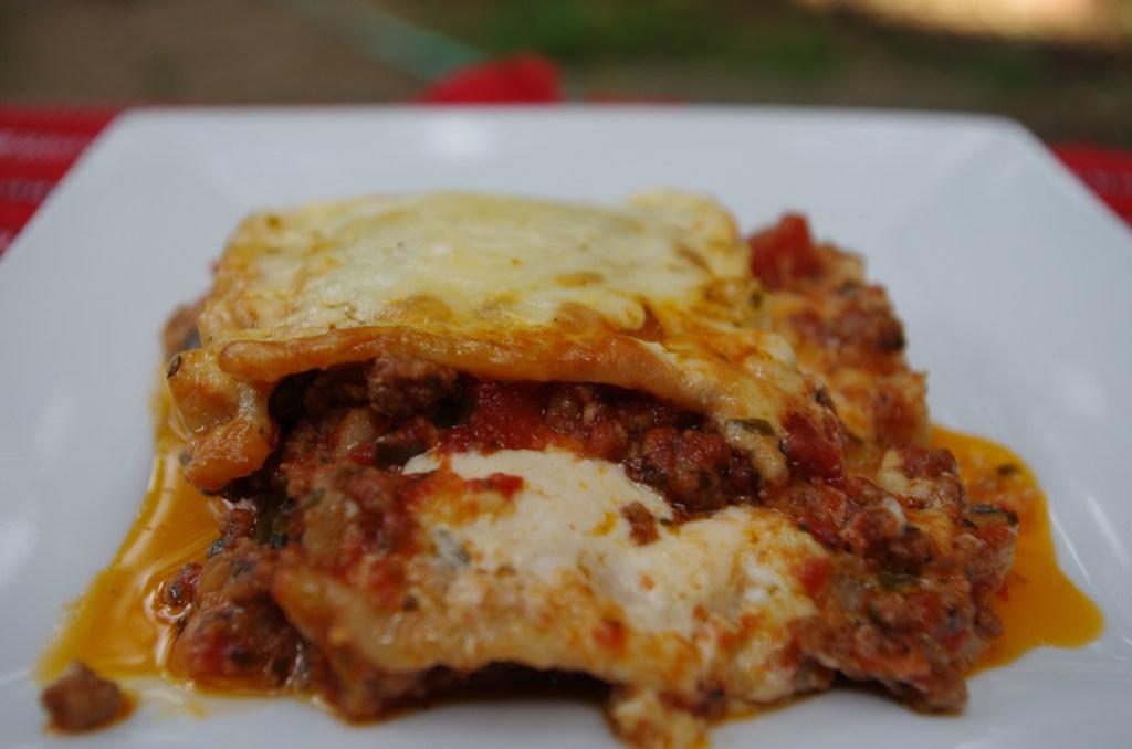 Easy Gluten Free Lasagna