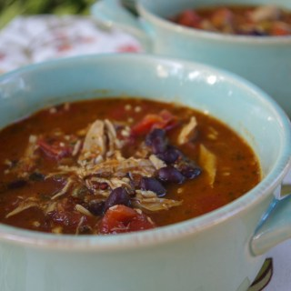 Chicken and Black Bean Soup (Gluten Free)