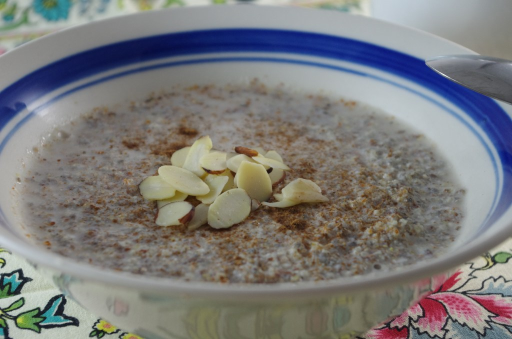 grain free hot cereal