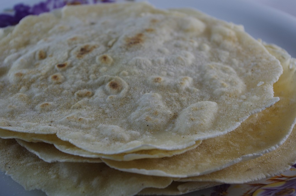 homemade gluten free flour tortillas