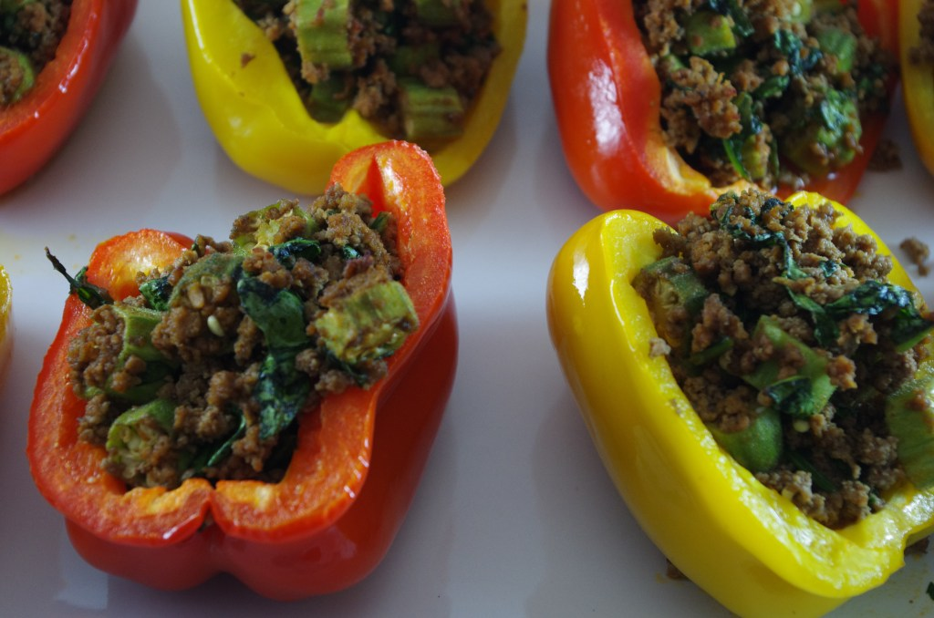 grain free stuffed peppers