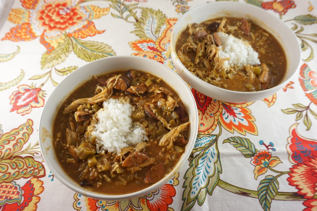 gluten free chicken and sausage gumbo