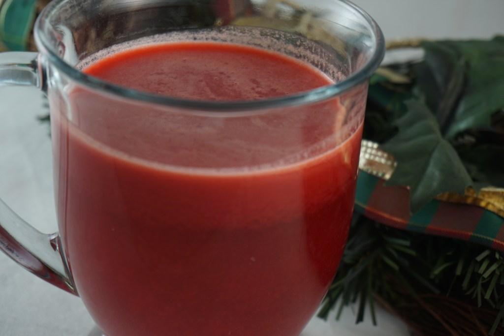 spiced cranberry juice
