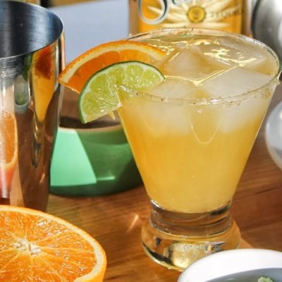 Orange Black Pepper Margarita