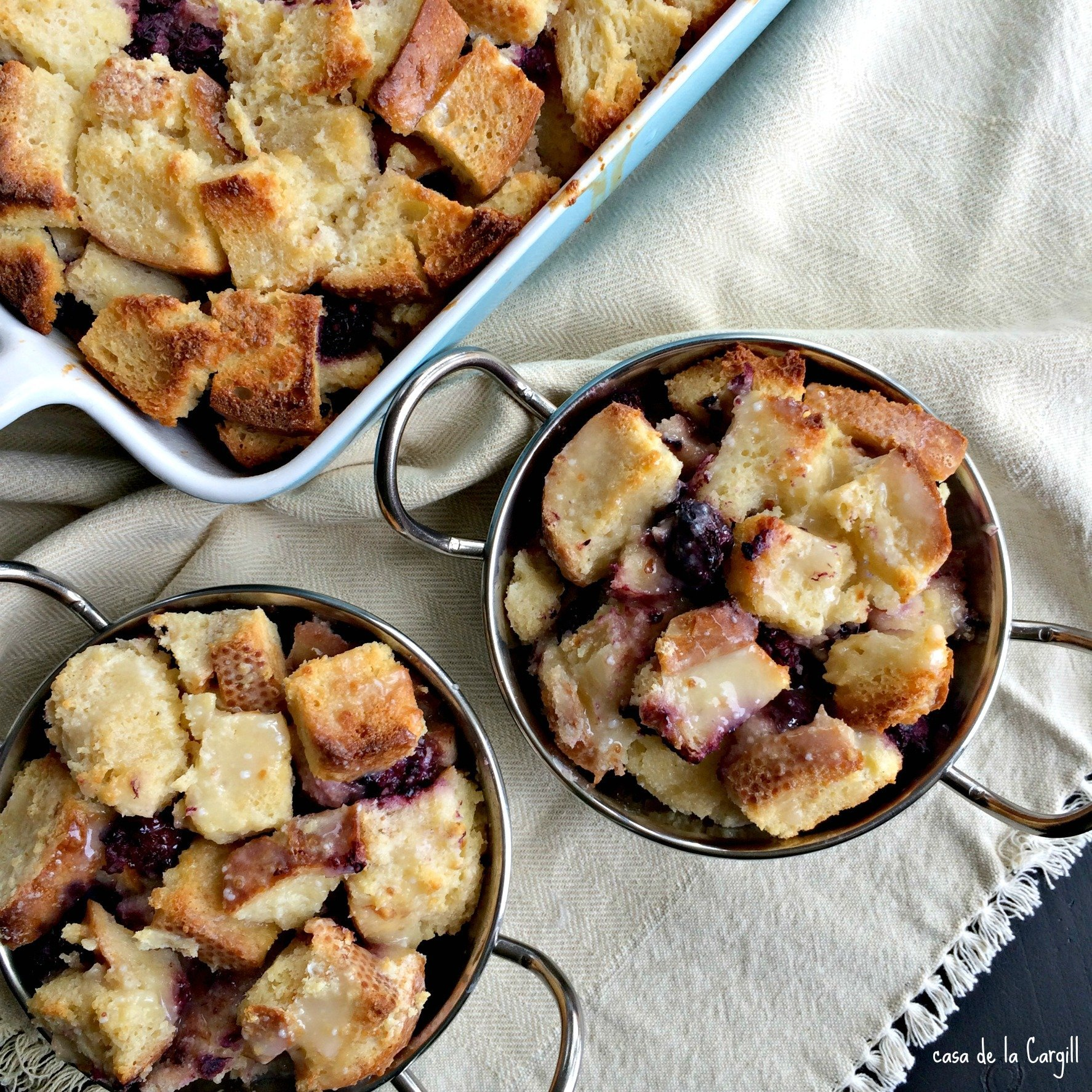 Blackberry Sour Cream Bread Pudding1