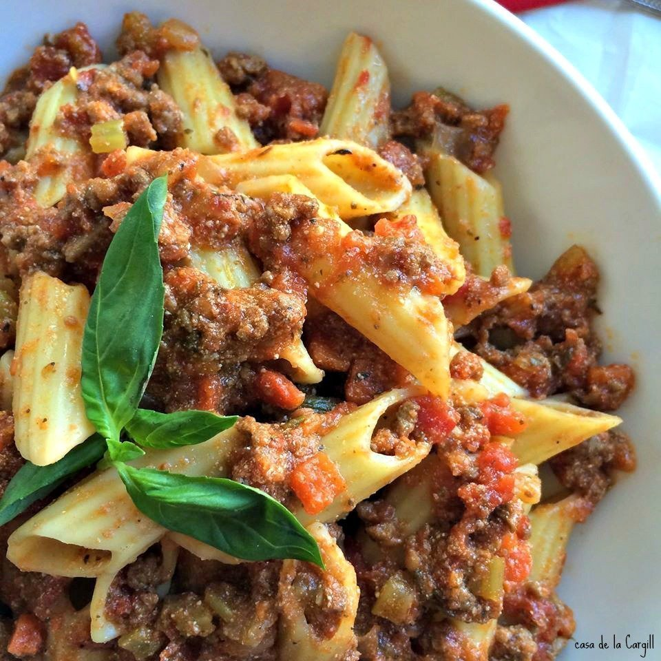 Creamy Bolognese Sauce~ Thyme for Cocktails