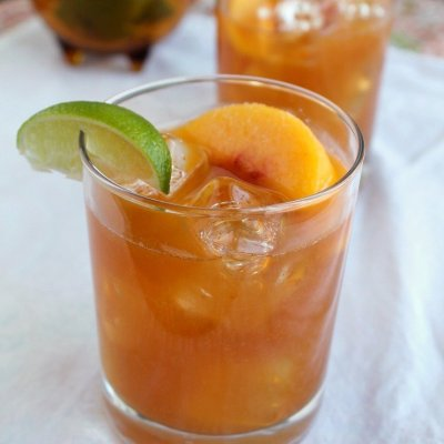 Guajillo Chile Peach Margarita