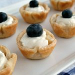 Blueberry Limoncello Tartlets