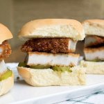 Fried Pork Tenderloin Sliders