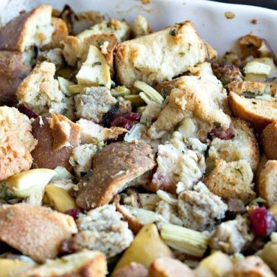 French Country Apple Stuffing
