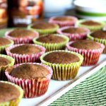 Mexican Chocolate Banana Muffins