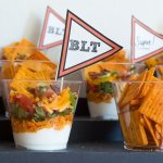 Ranch BLT Layered Mini Dips