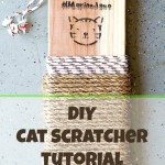 DIY Cat Scratcher