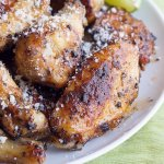 Chipotle Cotija Chicken Wings