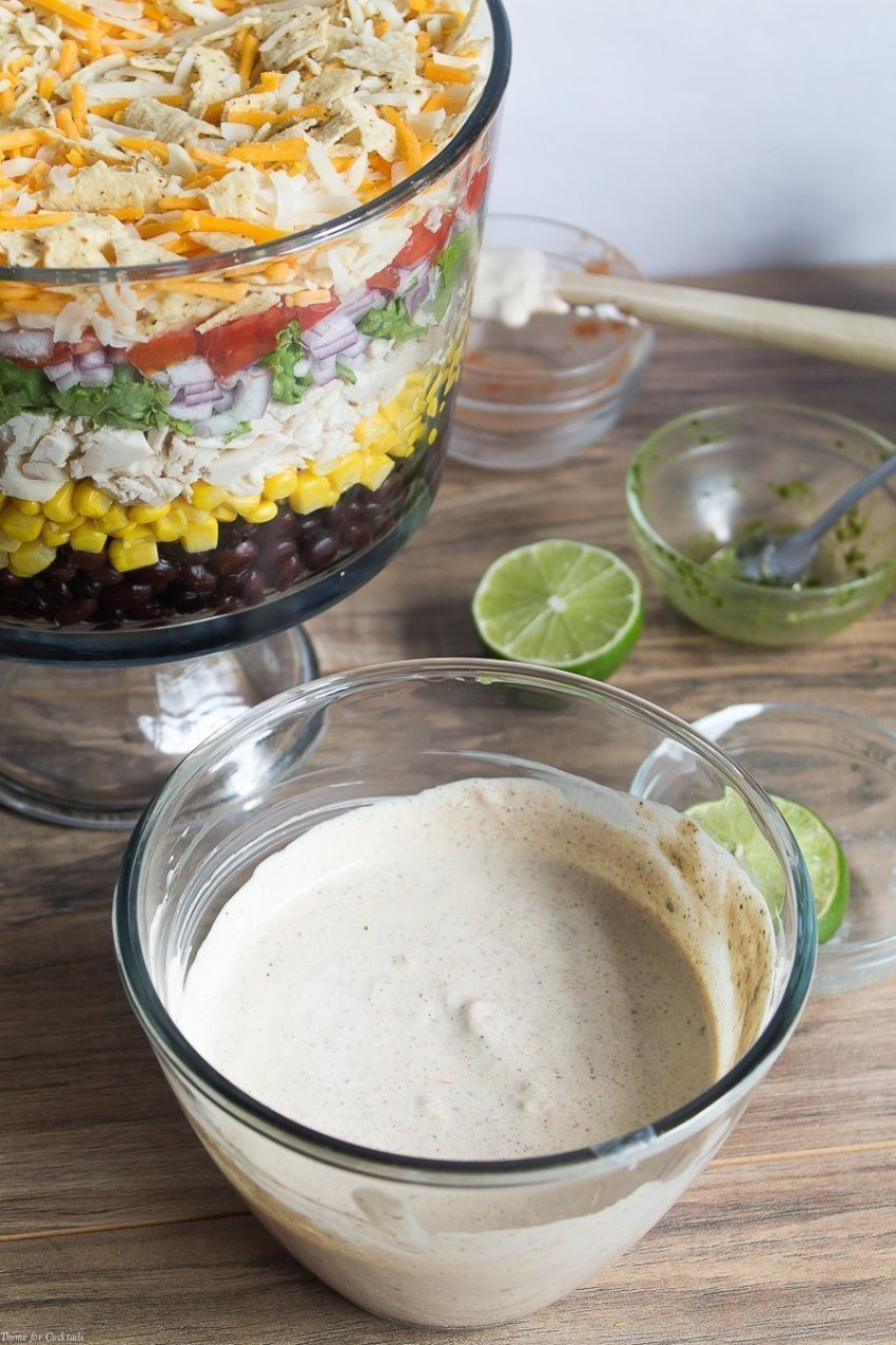 You need this tangy, herb-filled Creamy Tex Mex Salad Dressing this summer; wow friends with salads, sandwiches, tacos, and more!