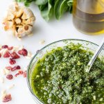 Spinach Cranberry Pesto Recipe