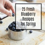 Get ready for blueberry season by drooling over thiscollection of 25Fresh Blueberry Recipes just bursting with juicy, seasonal berries. Recipes includedesserts, breakfast ideas, savory dishes, drinks, and even ones featuring our favorite flavor combo-lemon blueberry!