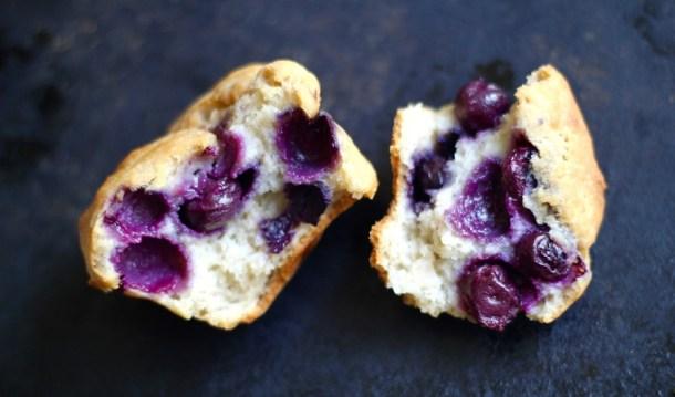 Gluten Free Lemon Blueberry Muffins