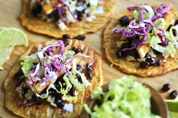 Gluten Free Summer Squash Tortillas