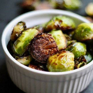 Sesame Sriracha Brussels Sprouts
