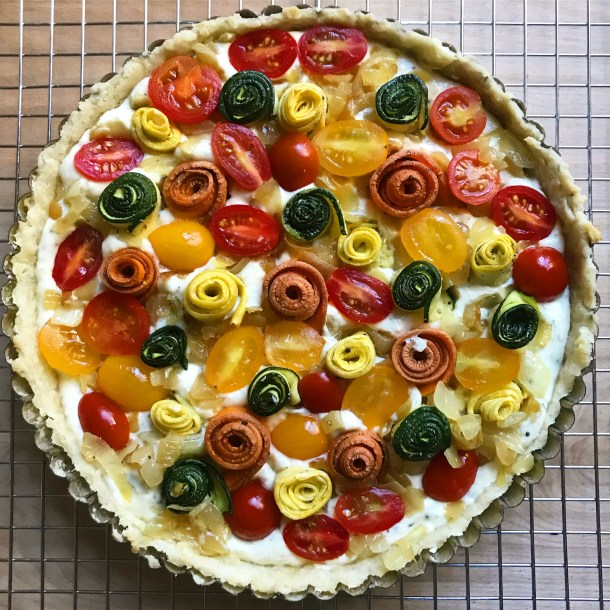 the garden tart