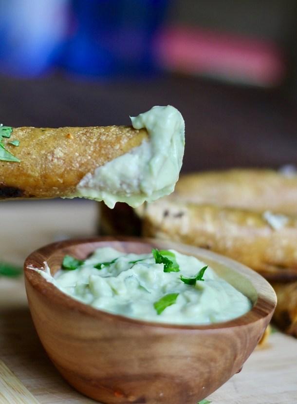 baked veggie taquitos