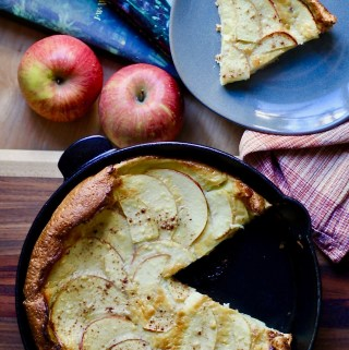 Gluten free Dutch Apple Baby