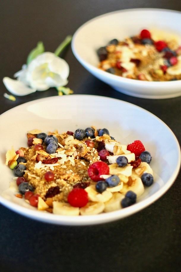 coconut breakfast quinoa