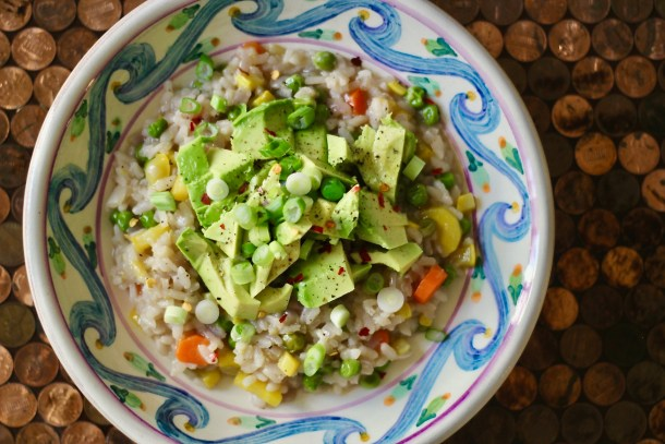 dairy-free spring vegetable risotto