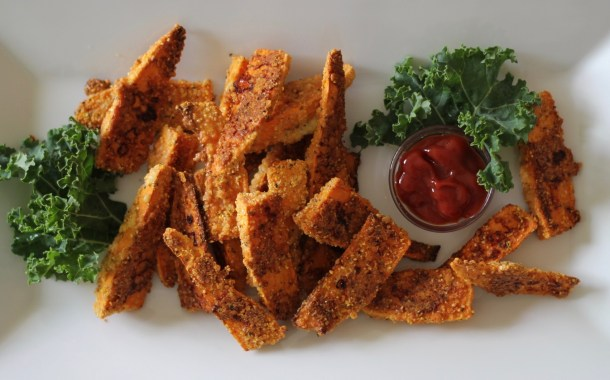 Parmesan Crusted Sweet Potato Fries