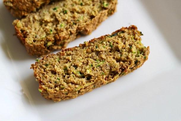Oatmeal Zucchini Banana Bread