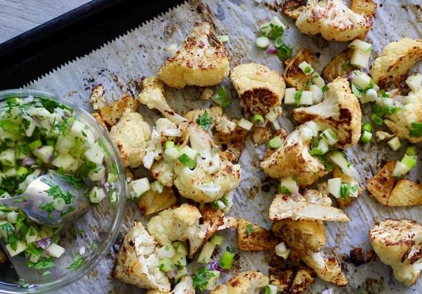 Charred Pineapple Cauliflower