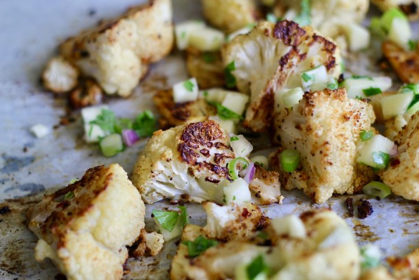 Charred Pineapple Cauliflower
