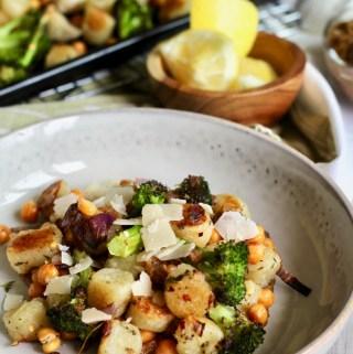 Sheet Pan Cauliflower Gnocchi