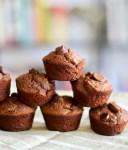 Flourless Chocolate Mini Muffins