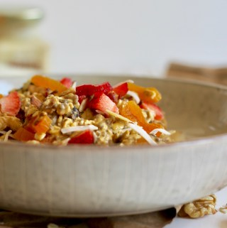 Pumpkin Maple Overnight Oatmeal