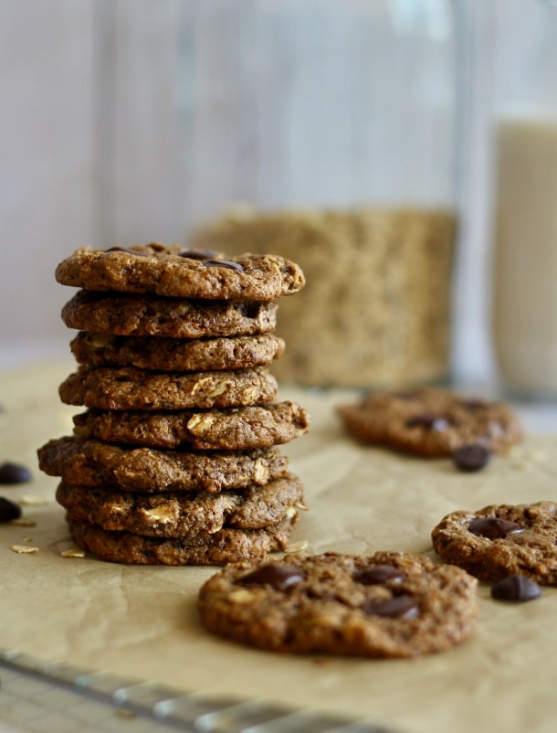Chewy Vegan Almond Butter Cookies