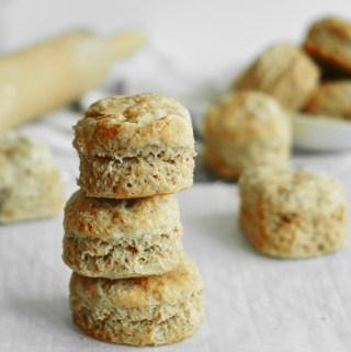 Easy Vegan Spelt Biscuits