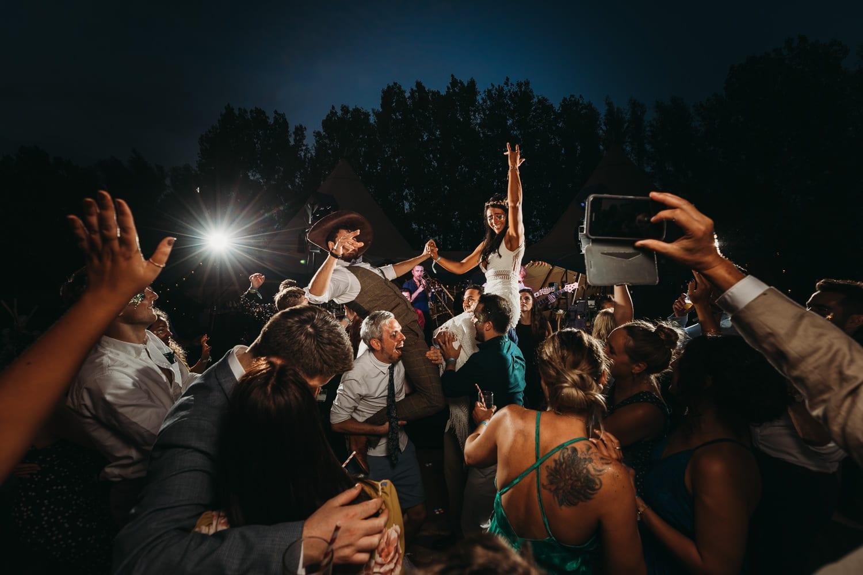 Horsley Hale farm festival wedding