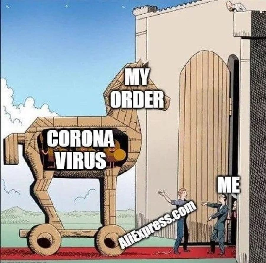 Can I Get Coronavirus From Aliexpress China Package