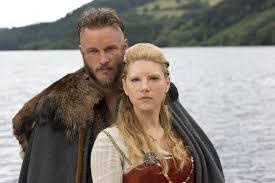 History channel series Vikings. Ragnar Logbrog