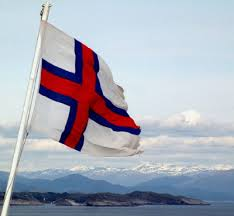 The Faroese flag (Faroe Islands)