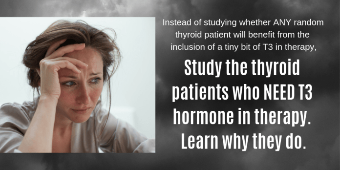 study patients who need t3