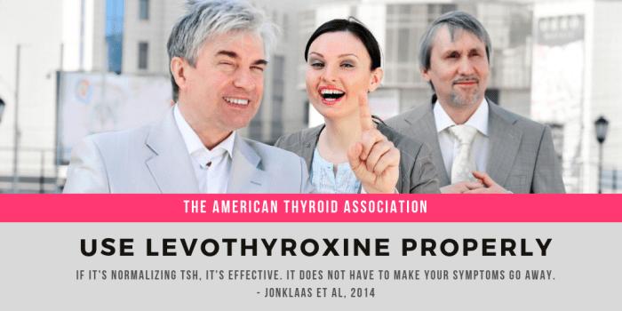 American Thyroid Association-Levo