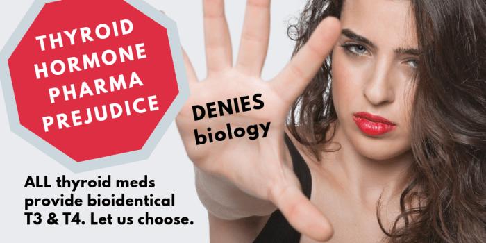 Thyroid hormone pharma-Denies-biology