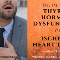 The impact of thyroid hormone dysfunction on ischemic heart disease, and how T3 therapy may help