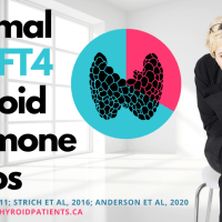 Normal FT3:FT4 thyroid hormone ratios in large populations