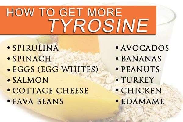 get more tyrosine